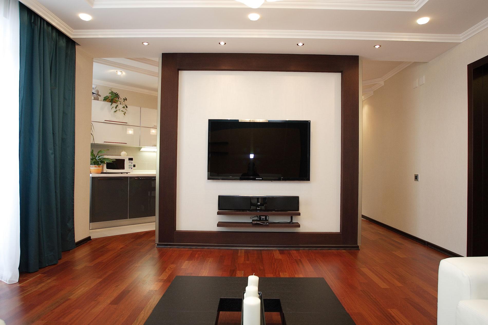 Телевизор на стене. Часть 2 Домфронт 41